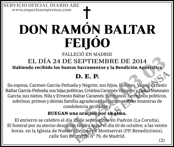 Ramón Baltar Feijóo